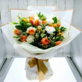 Always 25 Years Old Tulip Bouquet (Colour at Your Choice)